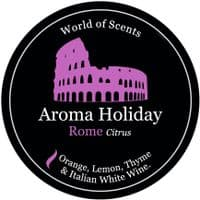 Aroma Holiday Rome Scented Candle